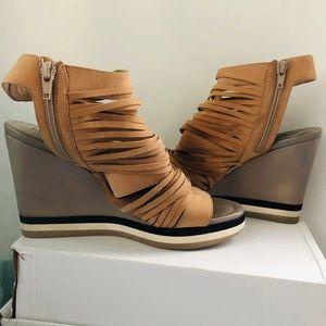 BIKKENBERGS, Platform Wedge Sandals